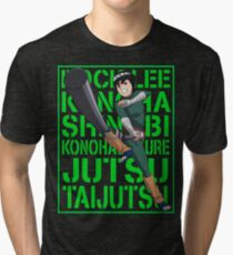 Rock Lee  Tri-blend T-Shirt