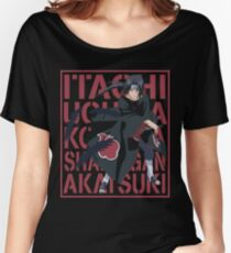 Itachi Uchiha Women's Relaxed Fit T-Shirt