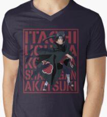 Itachi Uchiha Mens V-Neck T-Shirt
