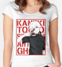 Ken Kaneki v2 Women's Fitted Scoop T-Shirt