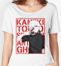 Ken Kaneki v2 Women's Relaxed Fit T-Shirt