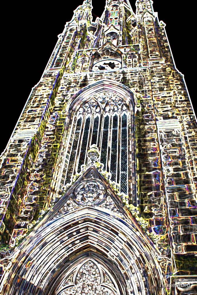 Neon church by njonesford