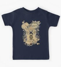 Shakespeare King Lear Quarto Front Piece Kids Tee