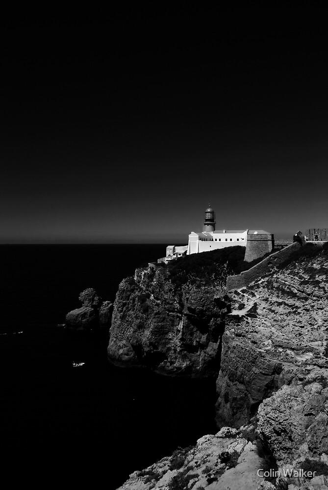 Sagres Lighthouse by Colin Walker