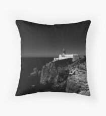Sagres Lighthouse Throw Pillow