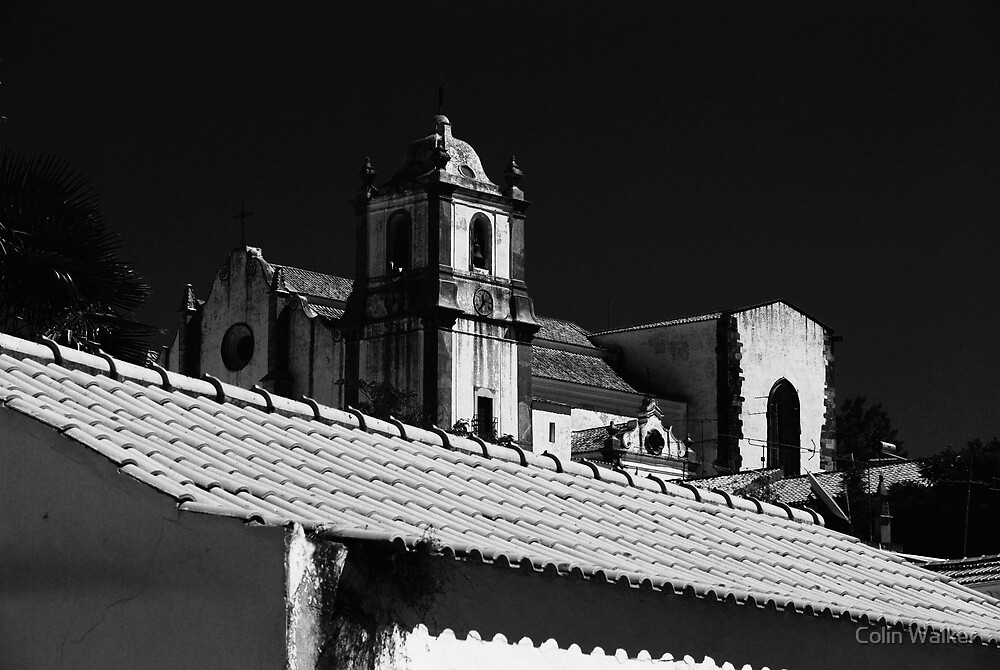 Silves Cathedral by Colin Walker