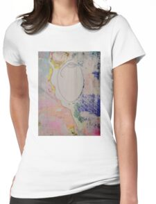 Absent Number Two Womens Fitted T-Shirt