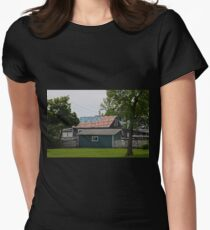 Patriotic Roof Women's Fitted T-Shirt