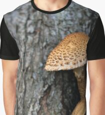Toadstool in the rainy woods Graphic T-Shirt