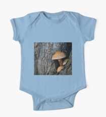 Toadstool in the rainy woods One Piece - Short Sleeve