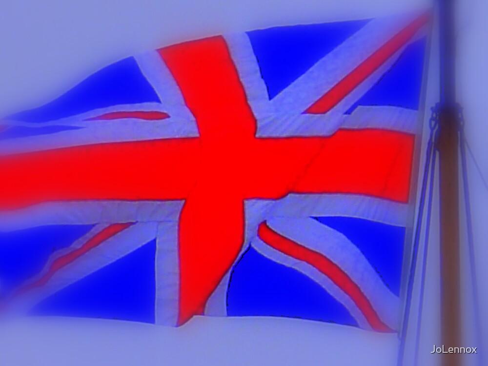 Flourescent Flag by JoLennox