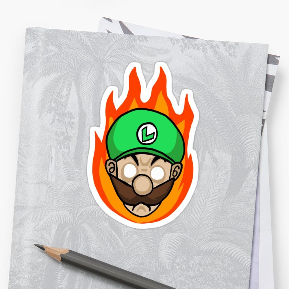 Luigi Is Mad by Underbridge