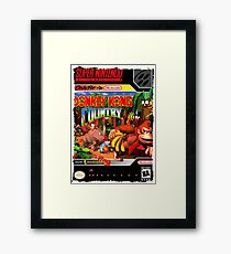 Donkey Kong Country Super Nintendo Collection Framed Print