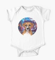 space dog One Piece - Short Sleeve