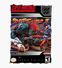 Street Fighter 2 Super Nintendo Collection Photographic Print