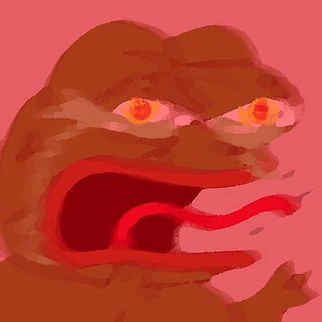 Upsetti Pepe siendo activado de ChanTees