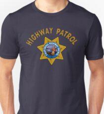 CHIP´S TV SERIES - CALIFORNIA HIGHWAY PATROL Unisex T-Shirt