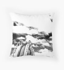 wheretonext? Throw Pillow