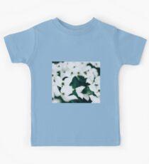 White elegant floral Kids Tee