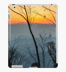 Megalong Sunset (large print) iPad Case/Skin