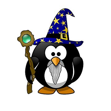 The Penguin Wizard by stofftoy