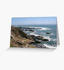 Gental Waves Greeting Card