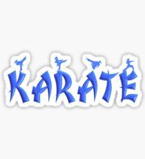 Karate - Female Sticker