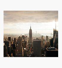 Sepia New York City Fotodruck