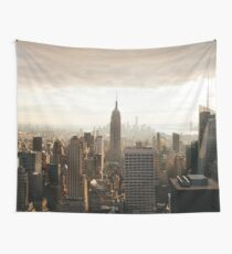 Sepia New York City Wall Tapestry