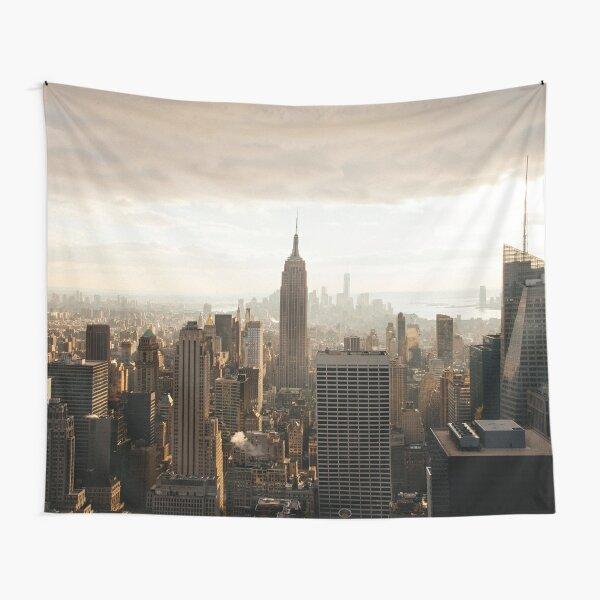 Sepia New York City Tapestry