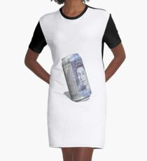 Twenty pound tin can Graphic T-Shirt Dress