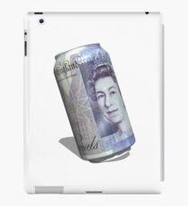 Twenty pound tin can iPad Case/Skin