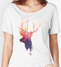 The burning sun Women's Relaxed Fit T-Shirt