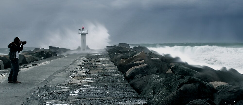 Braving The Storm by Cliff Vestergaard