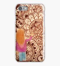 niña mandalas iPhone Case/Skin