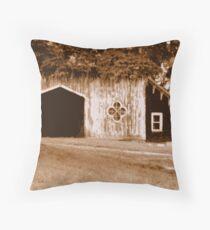 Gothic Barn Throw Pillow