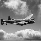 Lancaster PA474 as VN-T, B&W version by Gary Eason