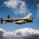 BBMF Lancaster PA474 as VN-T by Gary Eason