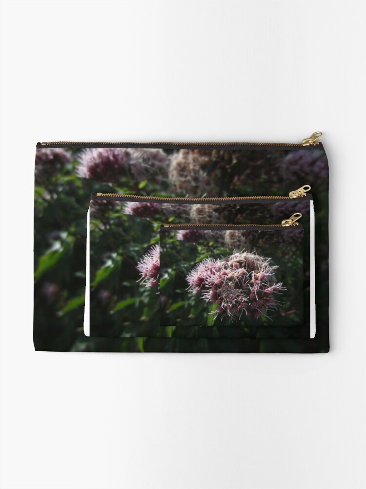 Alternate view of Hemp agrimony Zipper Pouch