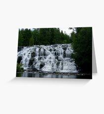 Crystal Falls Greeting Card