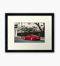 Ferrari 360 Challenge Stradale Framed Print