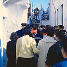 Easter Procession, Mykonos, Greece, 1960 by Priscilla Turner