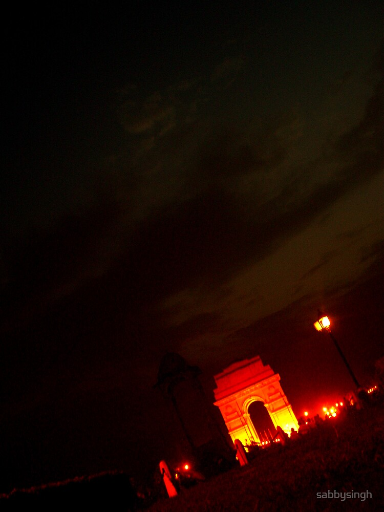 India Gate by sabbysingh