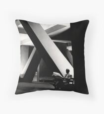 Night Reading Throw Pillow