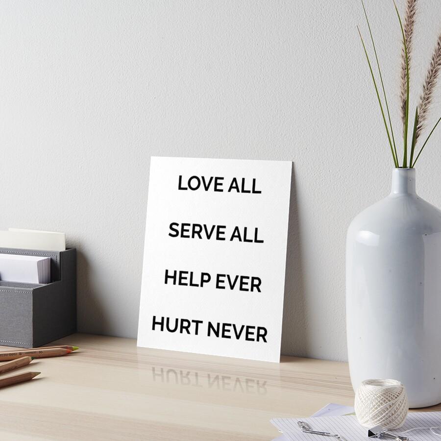 love ever hurt never