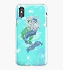 an underwater scomiche adventure iPhone Case/Skin