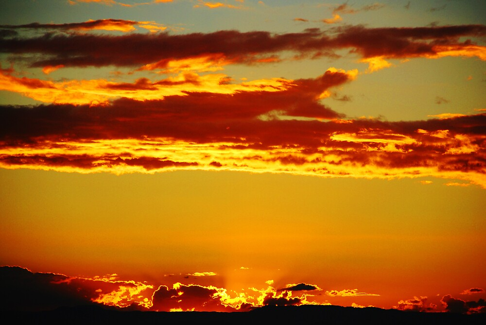 Sunset # 4 by Chris  O'Mara