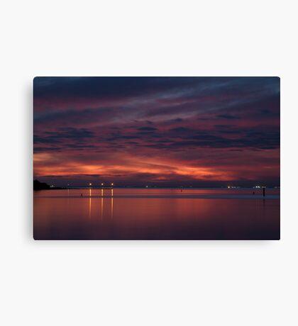 Corio Bay, Portarlington,Bellarine Peninsula Canvas Print