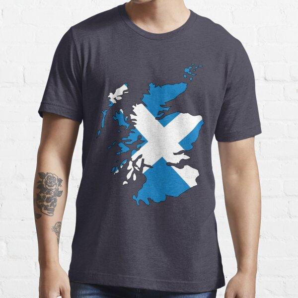 Scotland Flag and Country Essential T-Shirt