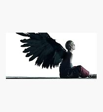 BTS - Taehyung Wings Photographic Print